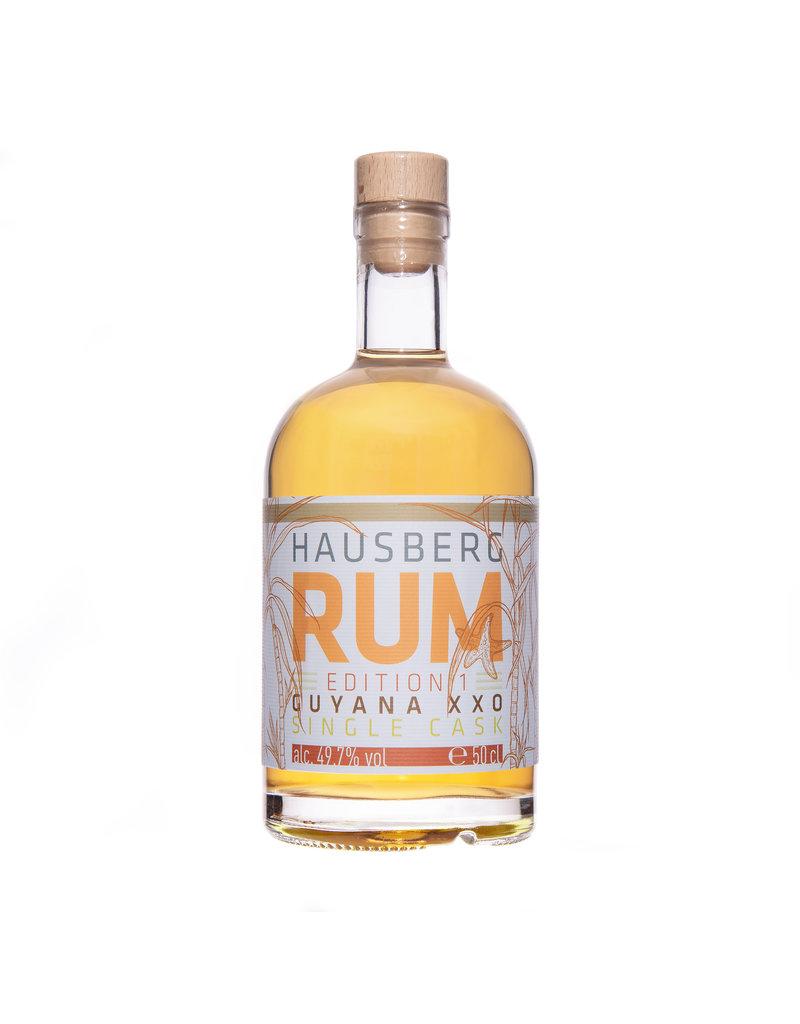 Hausberg Rum Hausberg Rum Edition 1 Guyana XXO Single Cask  0,5l w/ 49,7 % Vol. Alc. (159,80€/Liter)