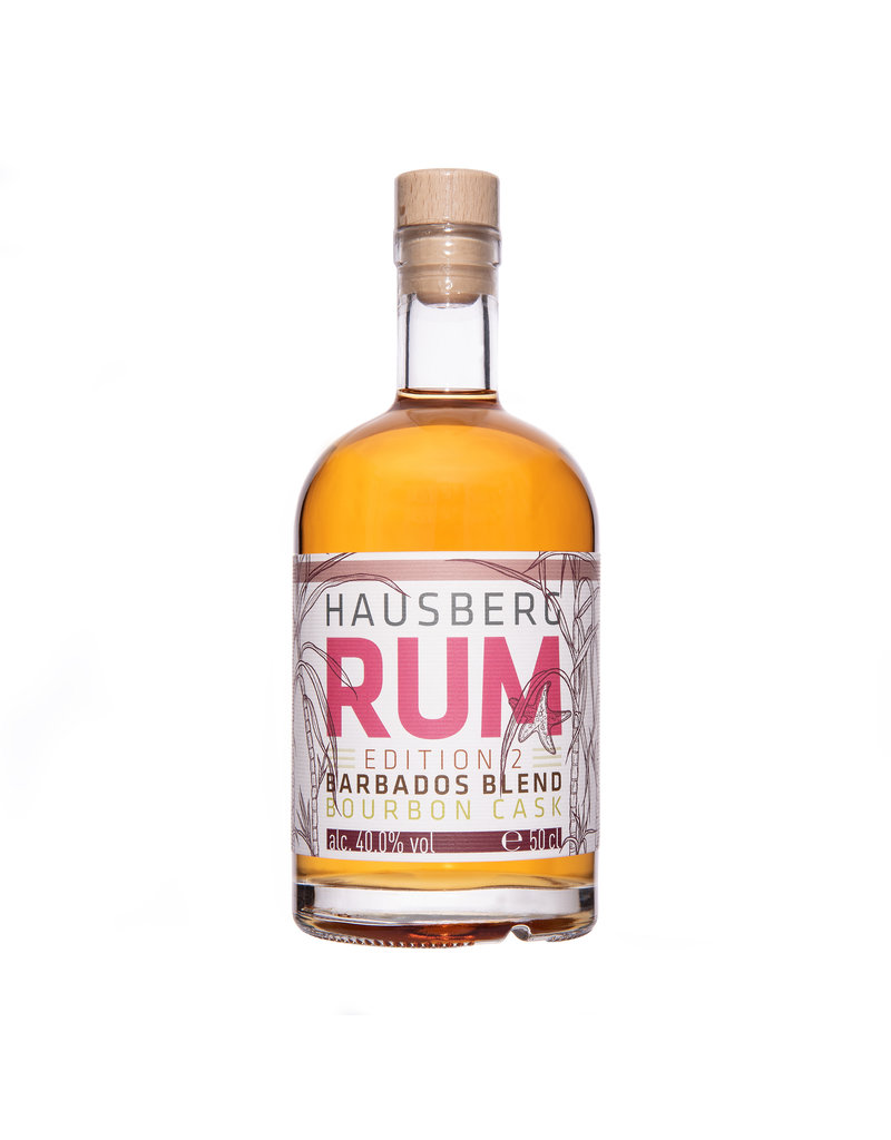Hausberg Rum Hausberg Rum Edition 2 Barbados Blend  0,5l mit 40 % Vol. Alkohol (59,80€/Liter)