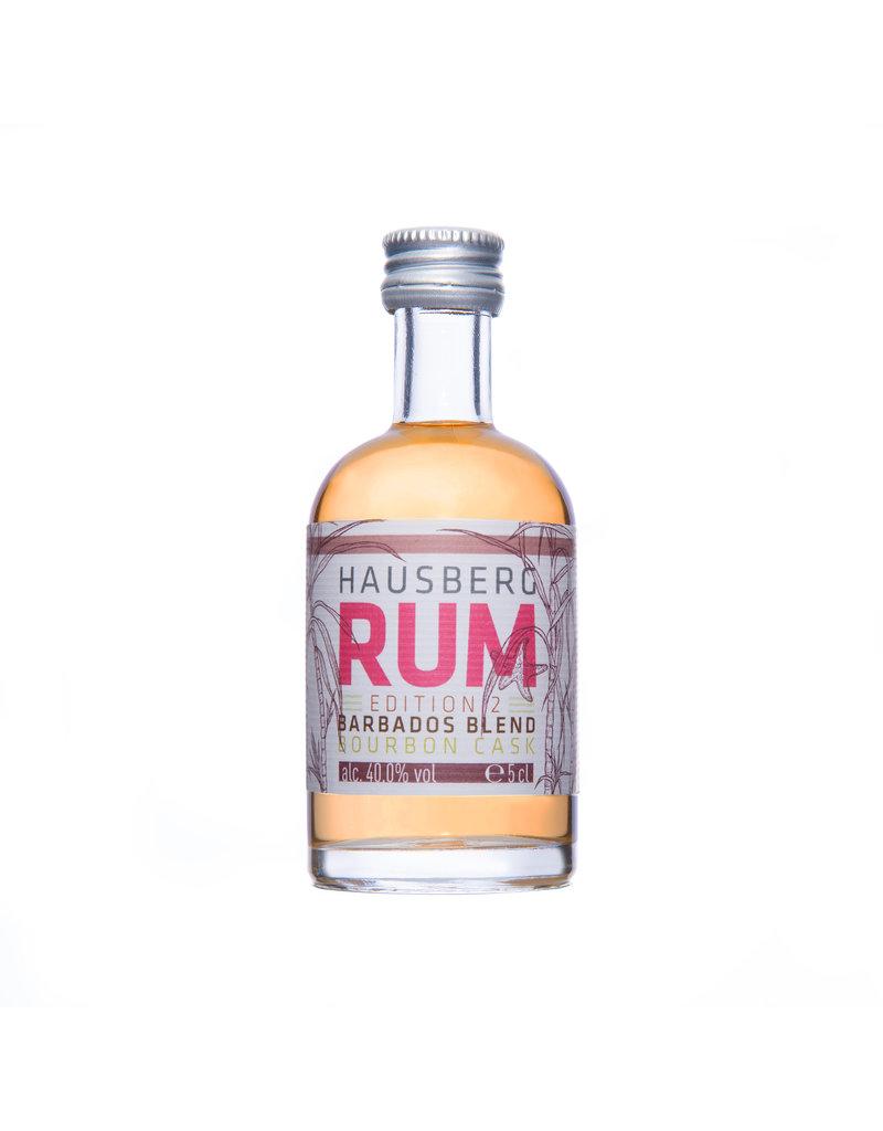 Hausberg Rum Hausberg Rum Edition 2 Barbados Blend  0,05l mit 40 % Vol. Alkohol (118 €/Liter)