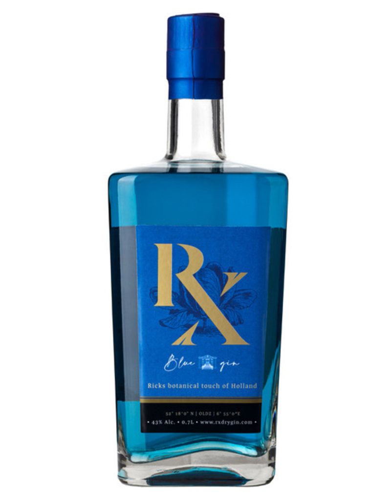 RX Gin RX Blue Gin w/ 43% vol.  from the Netherlands  (57,00€/Liter)