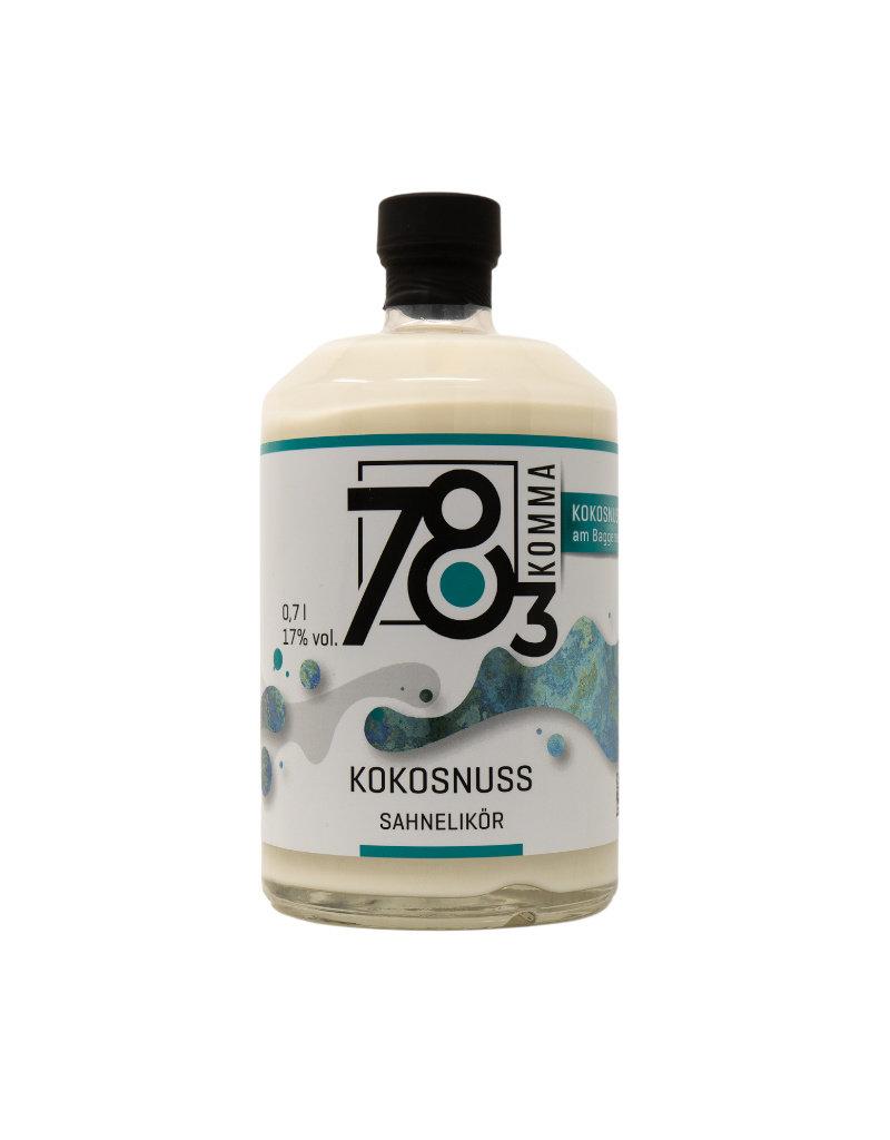 78Komma3 78Komma3 Coconut cream liqueur 0.7l w/ 17% alc. vol. (€ 28.43 / liter)