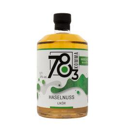 78Komma3 78Komma3 Hazelnut liqueur 0.7l w/ 18% alc. vol. (€ 28.43 / liter)