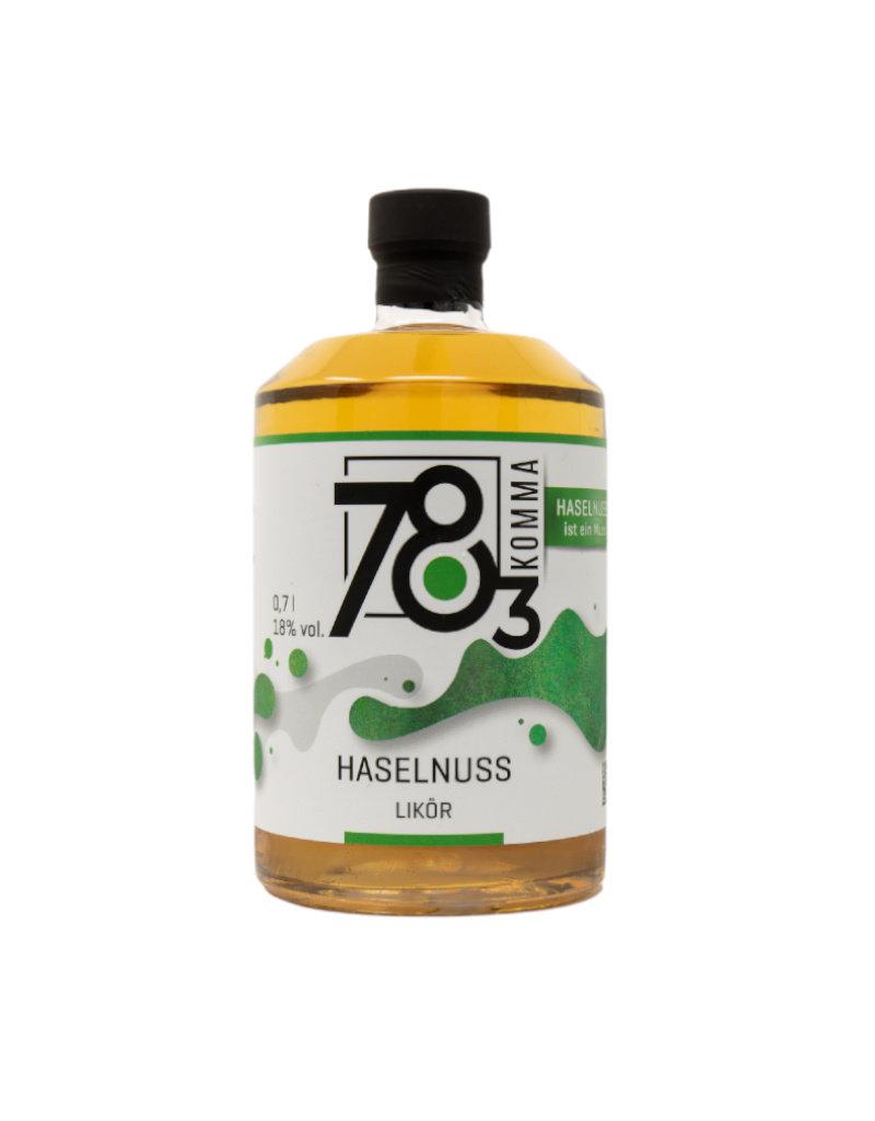 78Komma3 78Komma3 Haselnusslikör 0,7l mit 18 % Vol. Alkohol (28,43€/Liter)