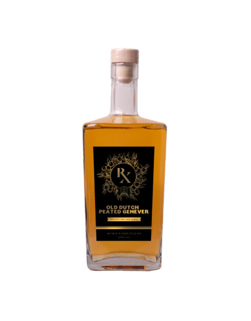 RX Gin RX Old Dutch Peated Genever w/ 41% vol.  from the Netherlands  (49,86€/Liter)