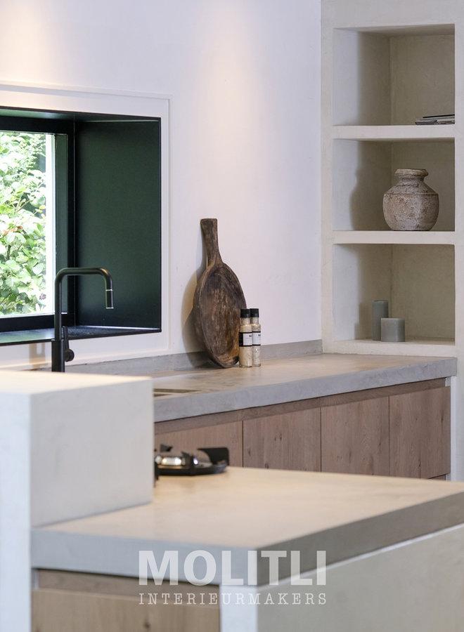Molitli-Keuken houten front (prijs op aanvraag)