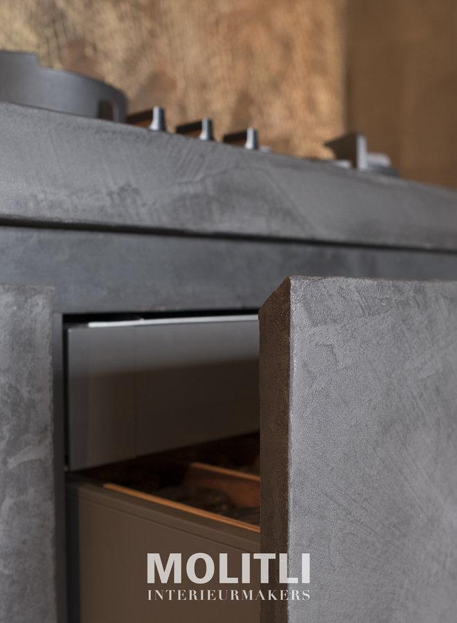 Molitli-Keuken beton front (prijs op aanvraag)