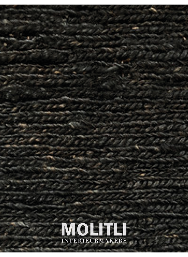 Hennep karpet - Charcoal