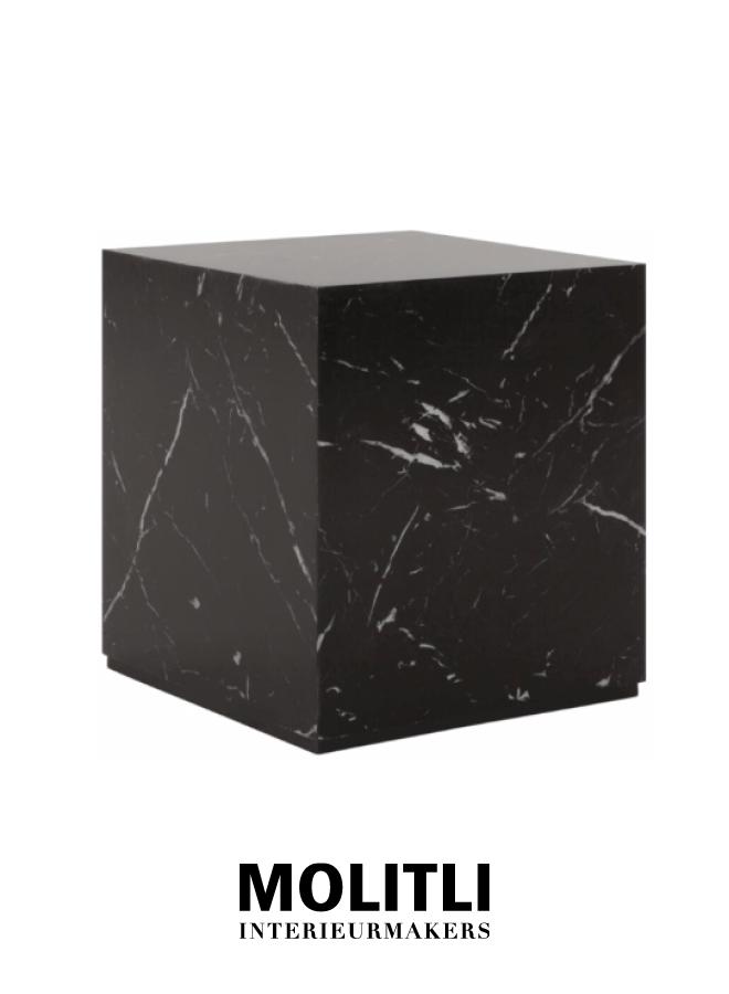 Salontafel - Black Cube Small