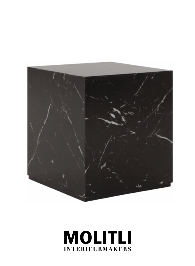 Salontafel - Black Cube Middel