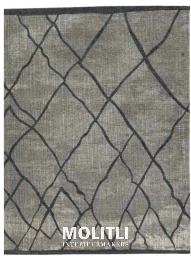 Karpet Tabar - Blauw taupe