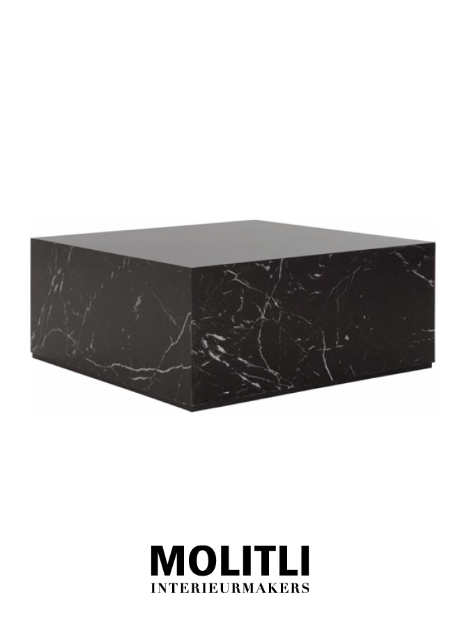 Salontafel - Black Cube Large