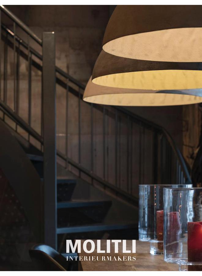 Betonstuc koepellamp - Bordo Wine