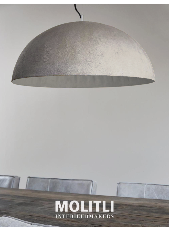 Betonstuc koepellamp - Ibiza