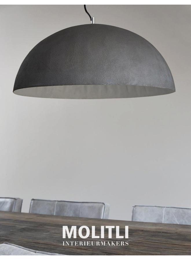 Betonstuc koepellamp - Just grey