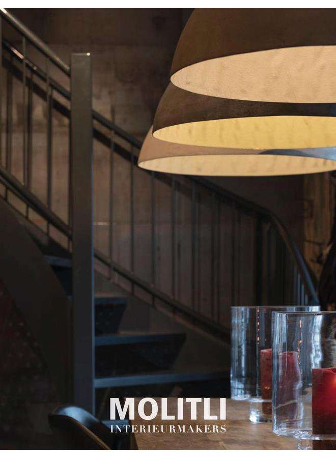 Betonstuc koepellamp - Cappuccino
