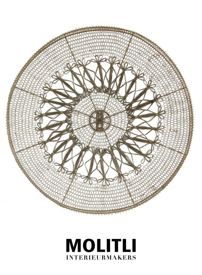 Circle Jessy Gold - medium