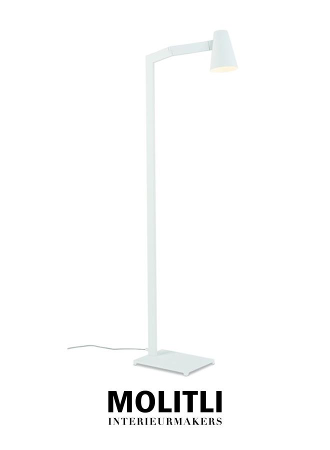 Vloerlamp - Barry wit