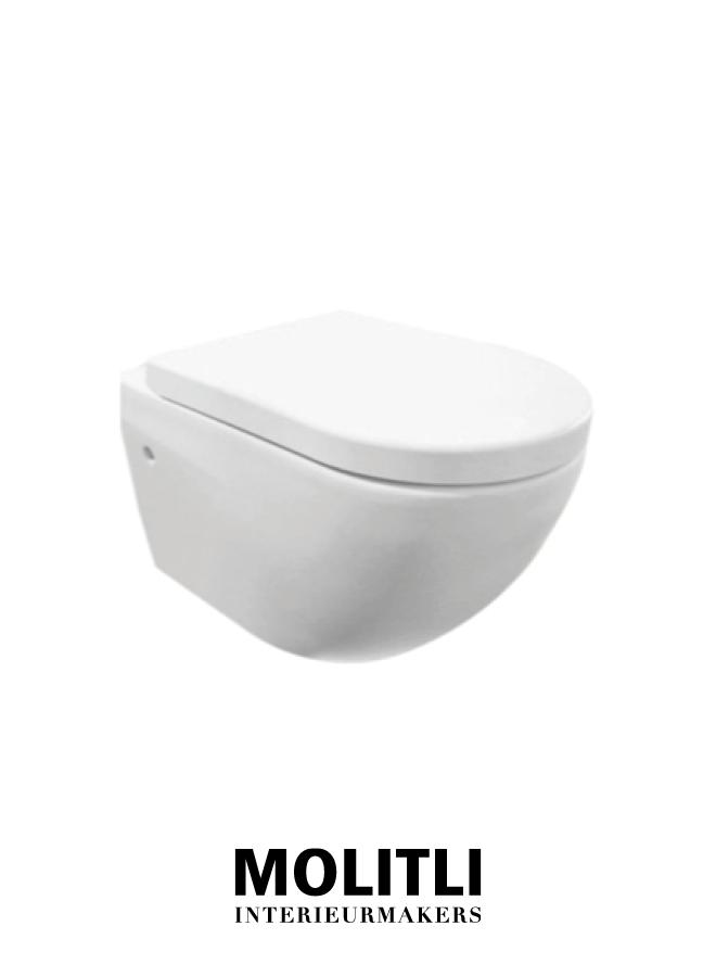 Toilet  - Gio mat wit
