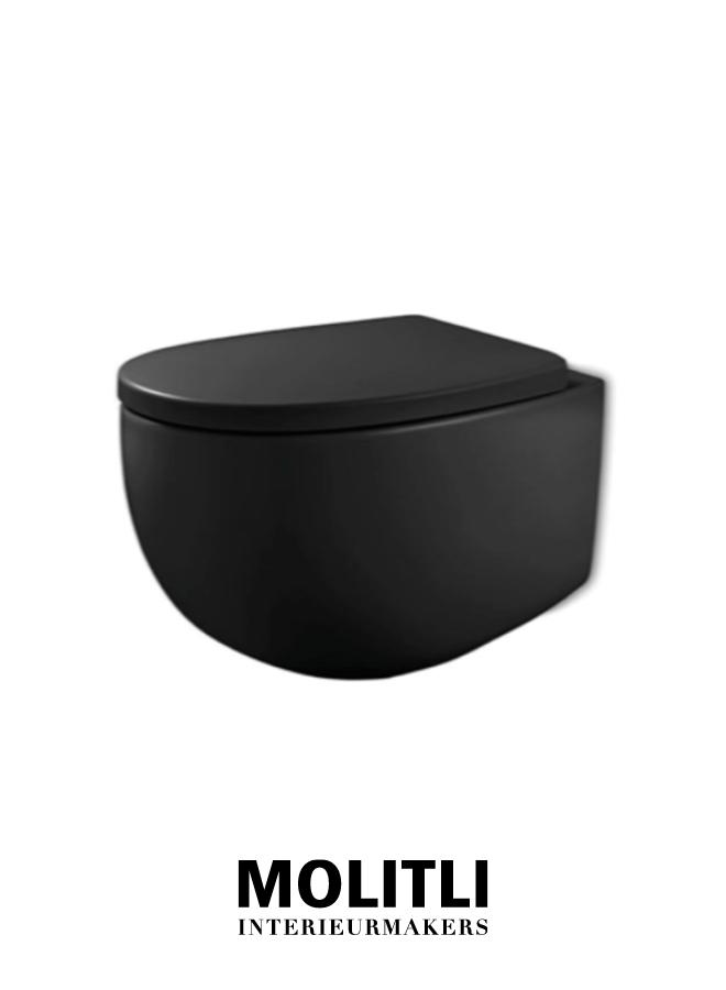 Toilet black