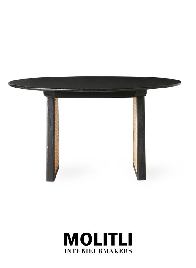 Salontafel - Webby black medium