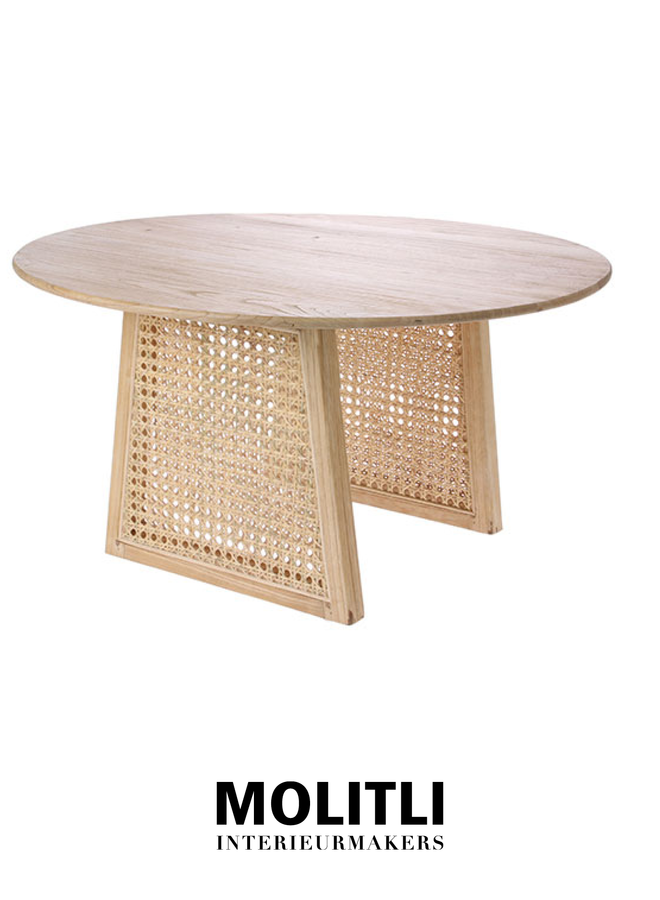 Salontafel - Webby natural medium