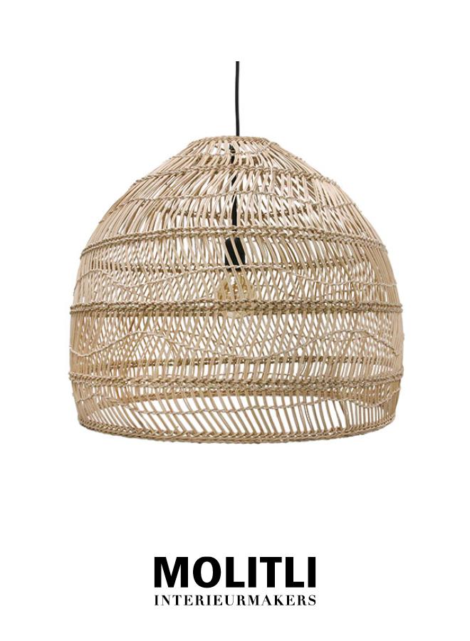 Hanglamp - Rotan lamp Nina Small Natural
