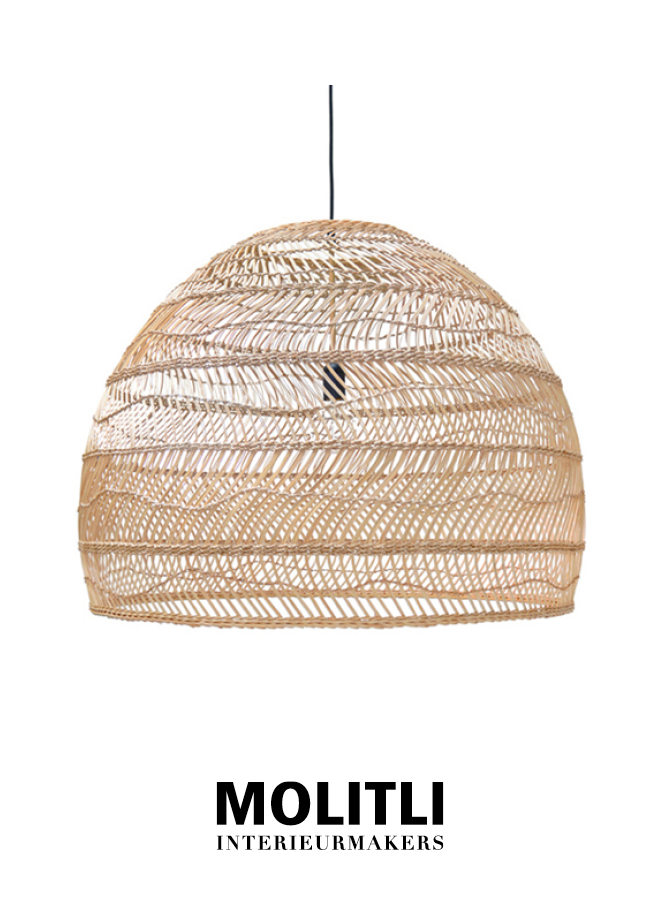 Hanglamp - Rotan lamp Nina Natural Large