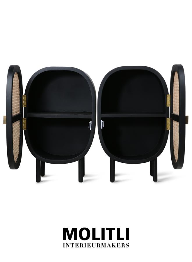 Bijzettafel - Liv Table Set Zwart