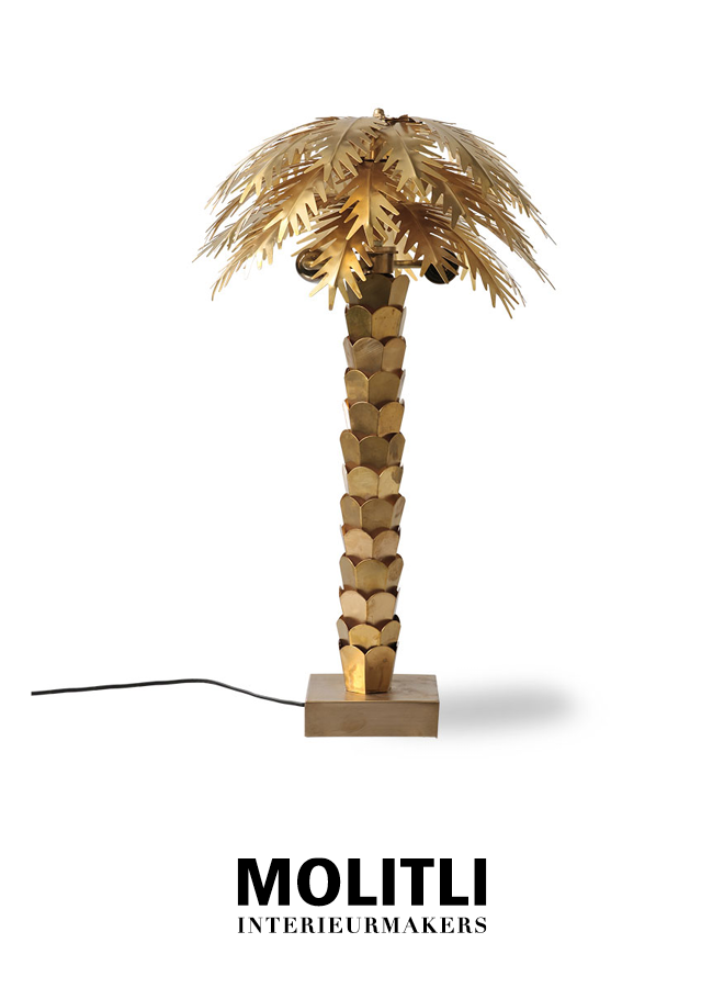 Tafellamp - Palmboom
