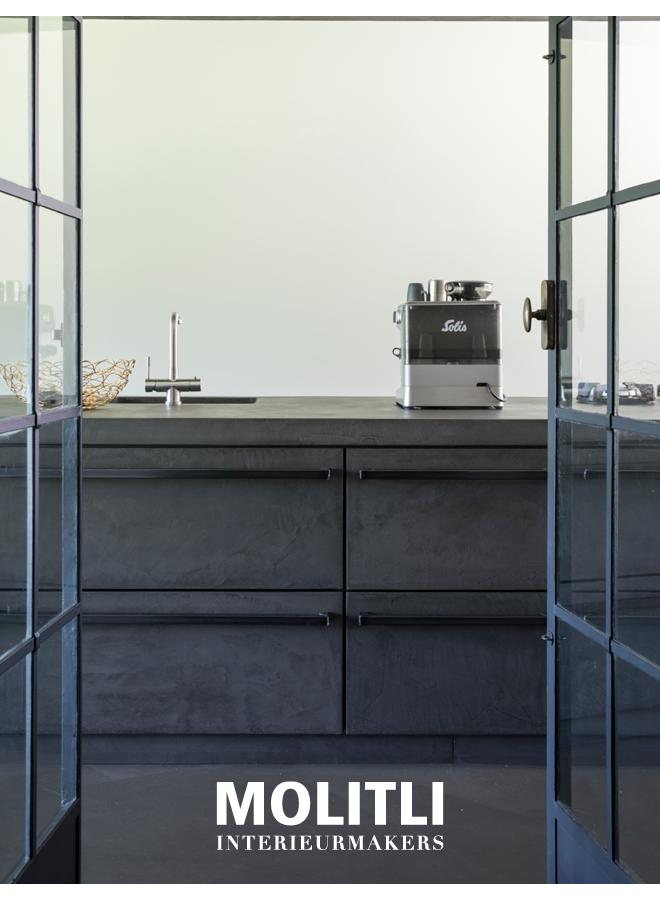 Servieskast - Ombouw 4 cm dik Kast oven + koelkast - Ombouw 8 cm dik Kast + koelkast - Ombouw 4 cm dik - Kast 68 cm breed
