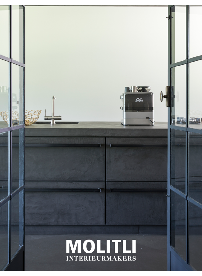 Kast oven + koelkast - Ombouw 4 cm dik Kast + koelkast - Ombouw 4 cm dik - Kast 68 cm breed