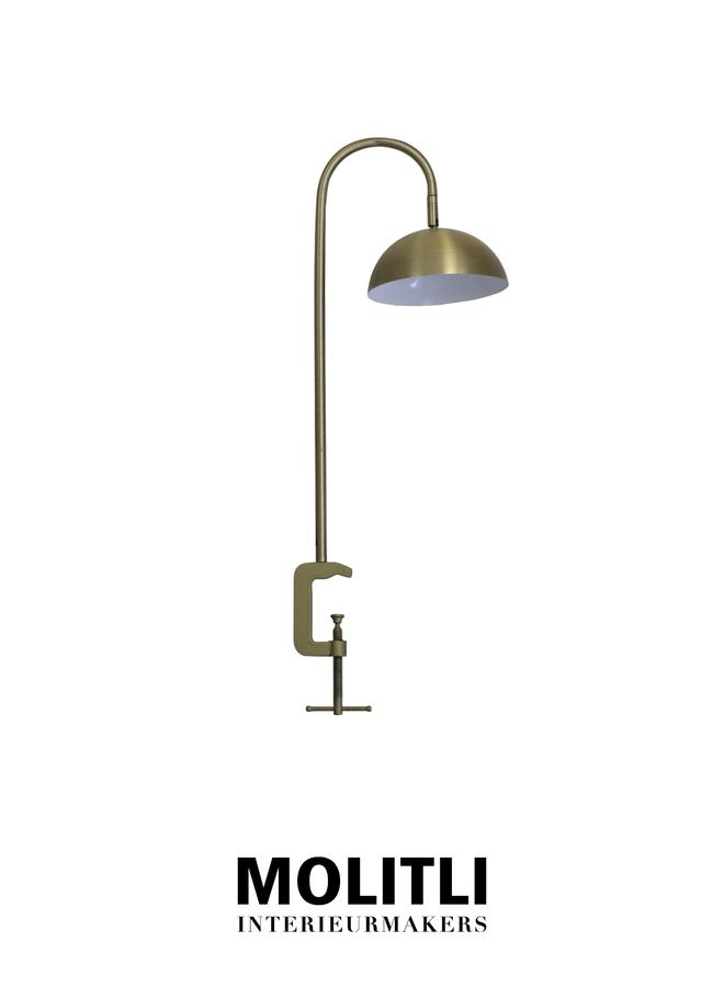 Tafellamp met klem - Linnea