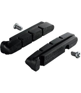 Shimano Spares Shimano BR-9000 R55C4 cartridge-type brake inserts and fixing bolts