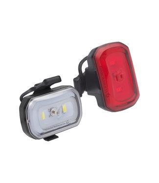Blackburn Blackburn Click USB Front + Rear Light Set: Black