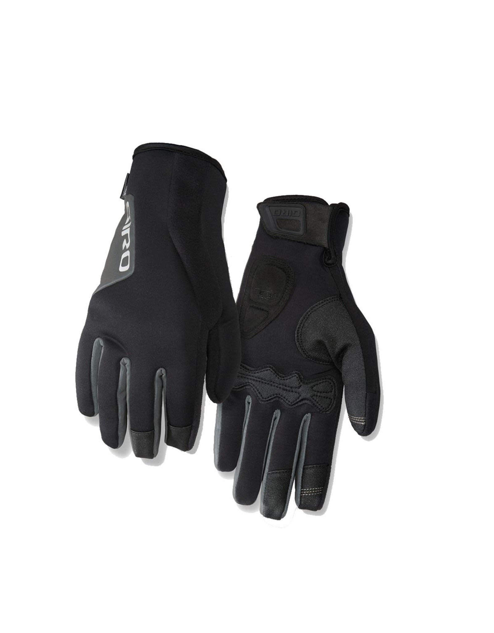 Giro GIRO AMBIENT 2.0 WATER RESISTANT INSULATED WINDBLOC CYCLING GLOVES 2017: BLACK L
