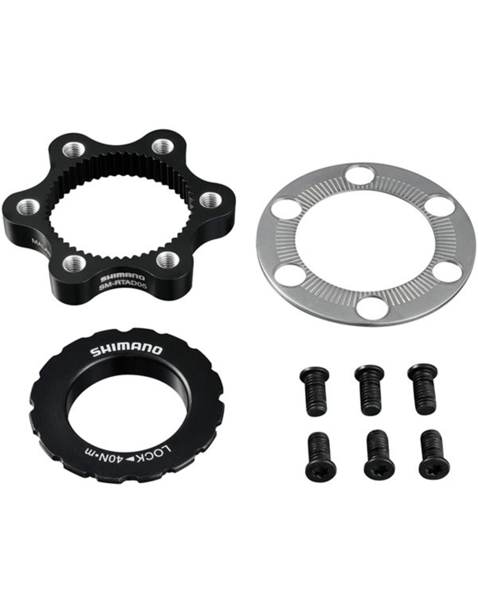 Shimano Spares SM-RTAD05 6-bolt rotor to Centre-Lock hub disc adapter