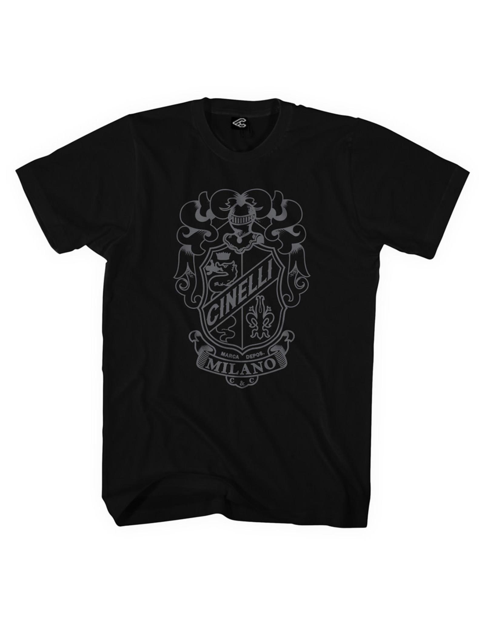 Cinelli Cinelli Crest T-Shirt Black S
