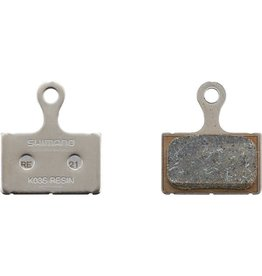 Shimano Spares K03S disc brake pads and spring, steel backed, resin