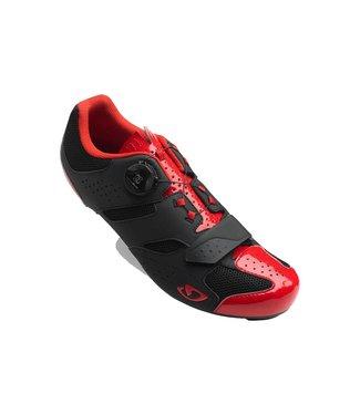 Giro GIRO SAVIX ROAD CYCLING SHOES 2019: BRIGHT RED/BLACK 46