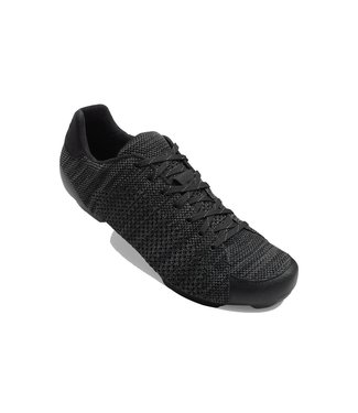 Giro GIRO REPUBLIC R KNIT ROAD CYCLING SHOES 2019: BLACK/CHARCOAL HEATHER 44