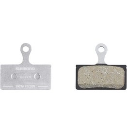 Shimano Spares G03A disc brake pads and spring, alloy backed, resin