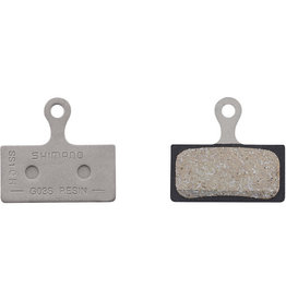 Shimano Spares G03S disc brake pads, steel backed, resin
