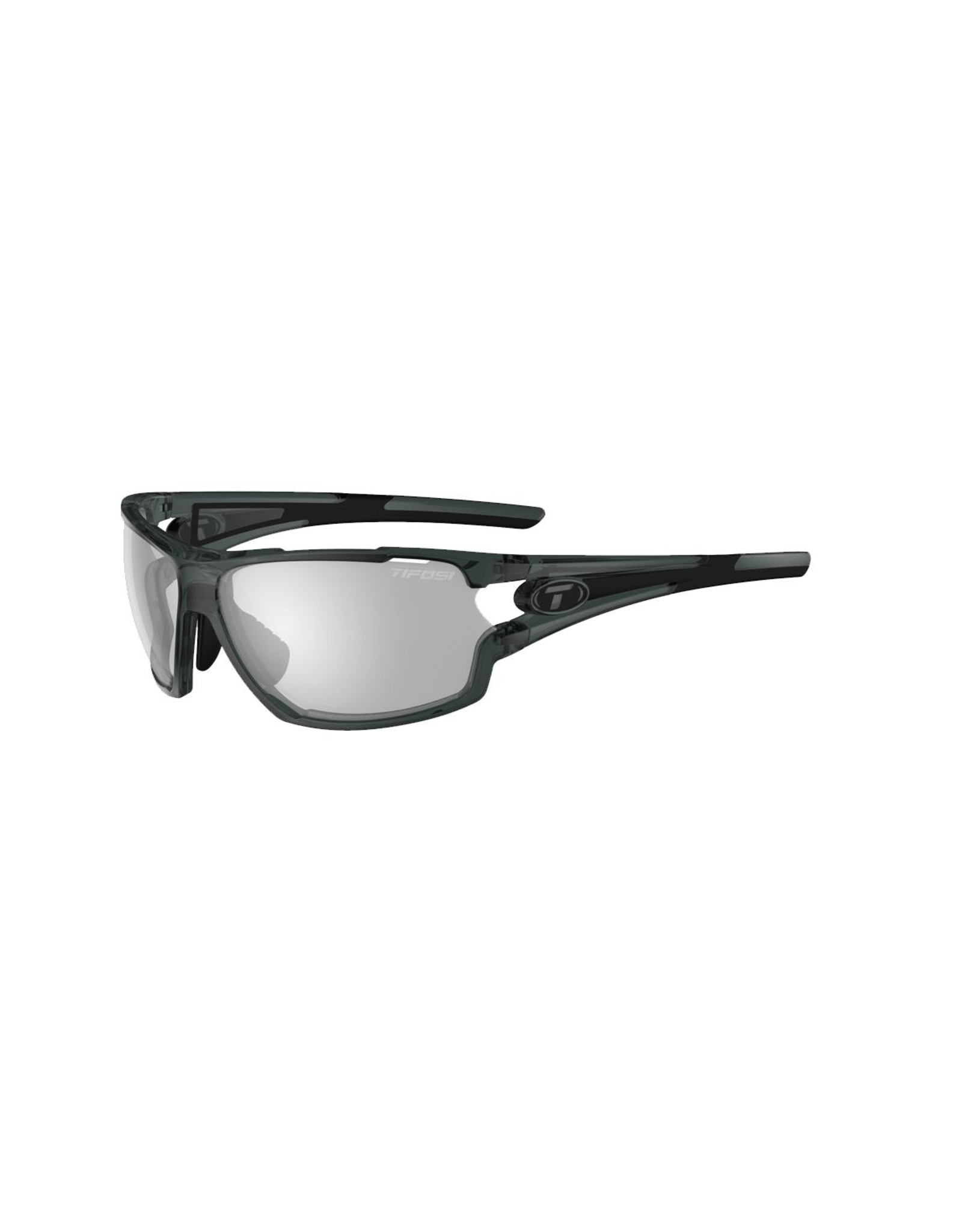 Tifosi Tifosi Amok Single Lens Eyewear 2019: Crystal Smoke/Fototec Light Night