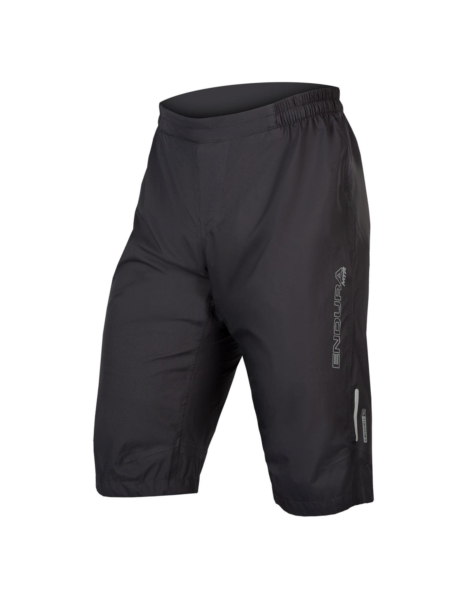 Endura MTR Waterproof Short: Anthracite - XL