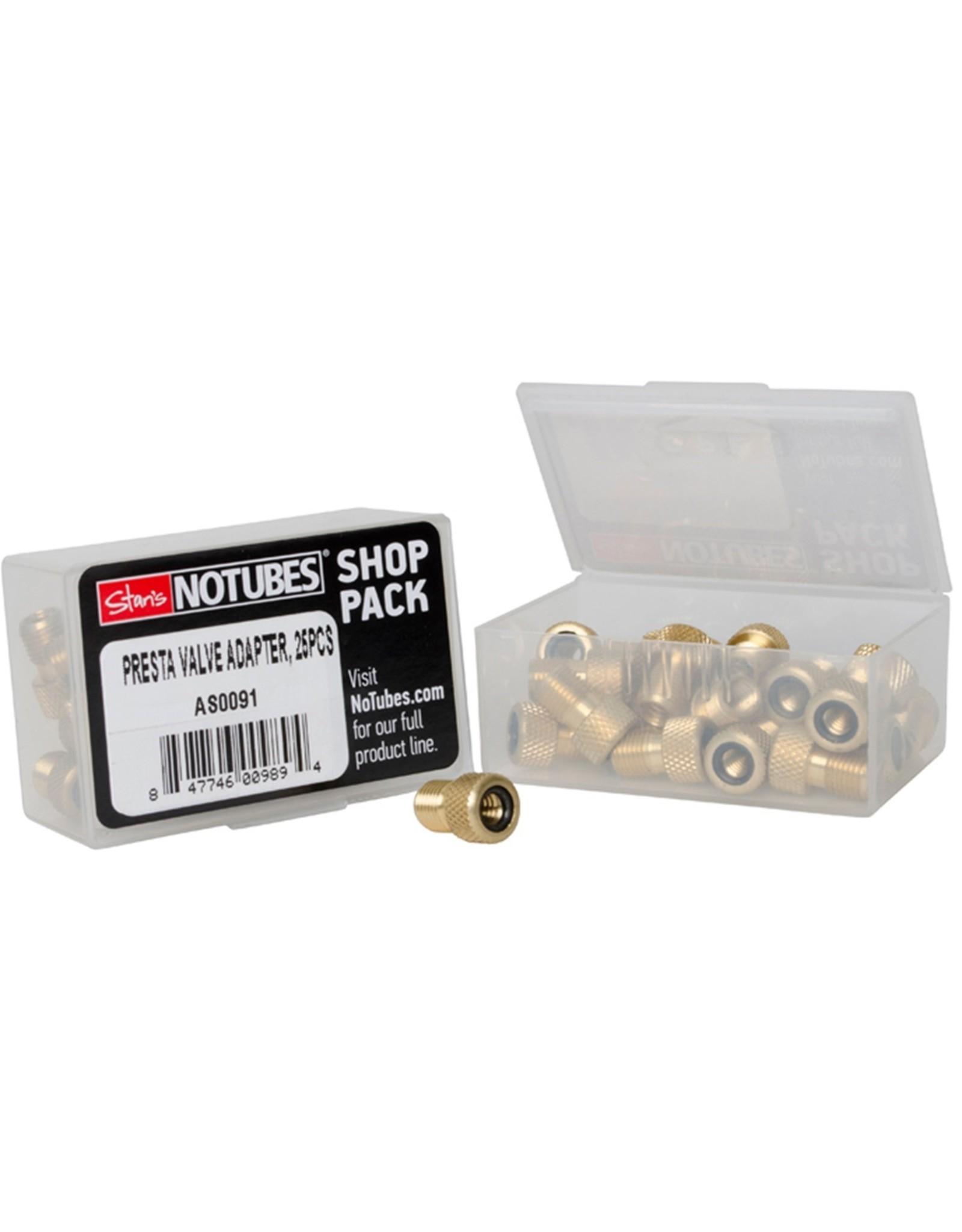 Stans NoTubes Stans NoTubes Shop Pack Presta Valve Adapters (25pcs)