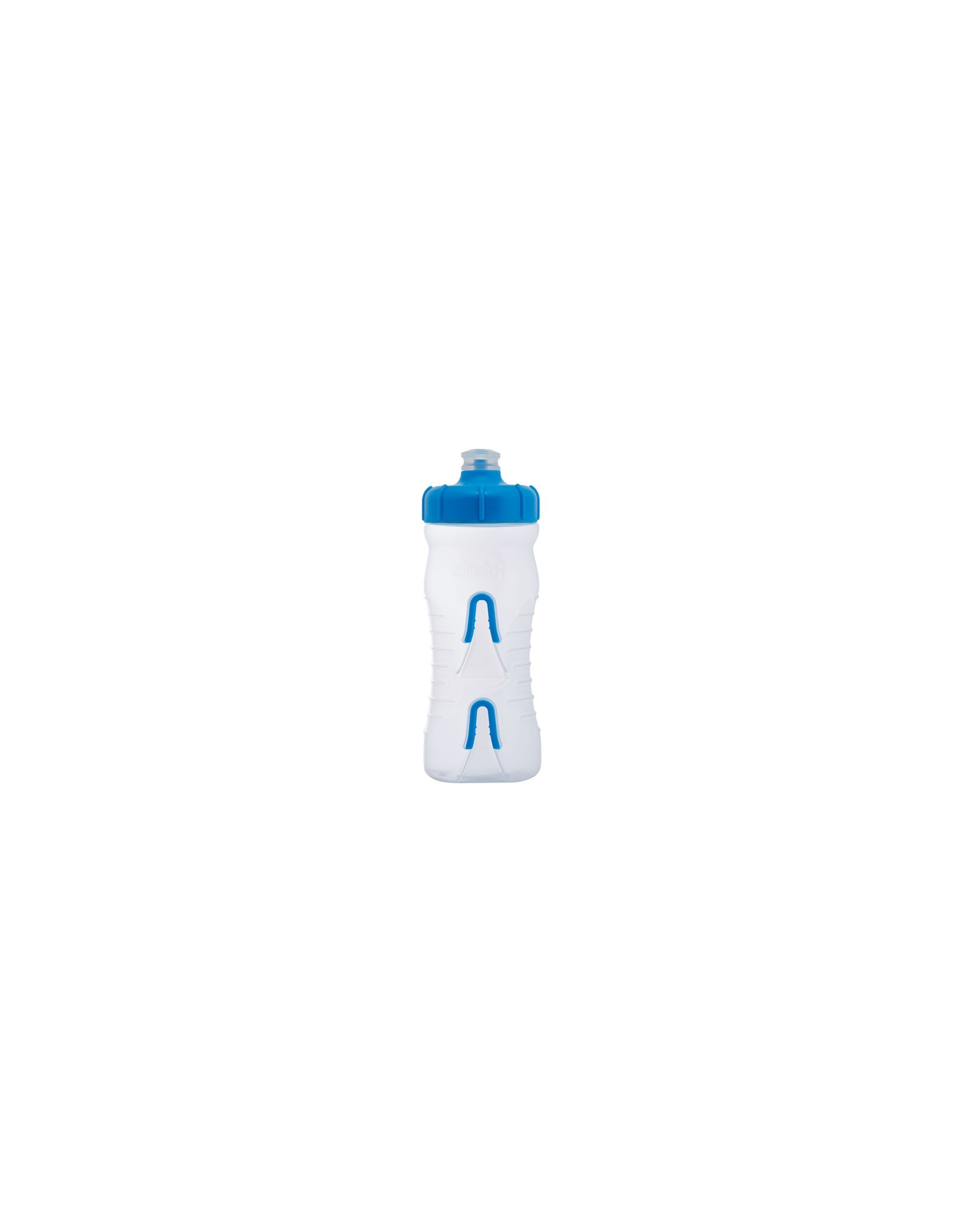 Fabric Cageless Bottle CLL 600ml Clear w Blue
