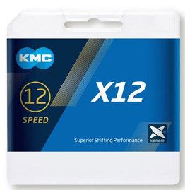KMC X12 Silver Chain 126L