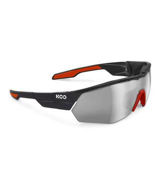 KOO Koo, Open Cube, Black/Red, Smoke Mirror/Clear, Medium