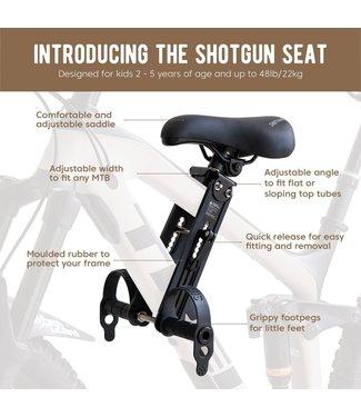 Shotgun 2-5yr Old Front Mounted MTB Seat, Black