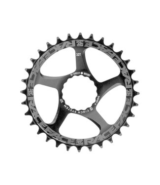 Race Face RaceFace Narrow Wide Chainring: Direct Mount CINCH, 30t, Black